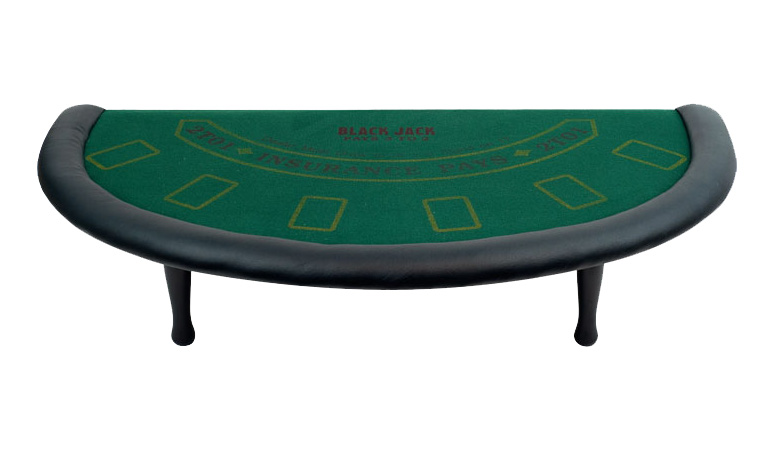 Blackjack Table Top With Legs