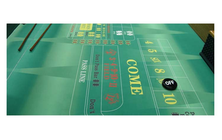 Custom craps layout for sale for 12 foot craps table for sale