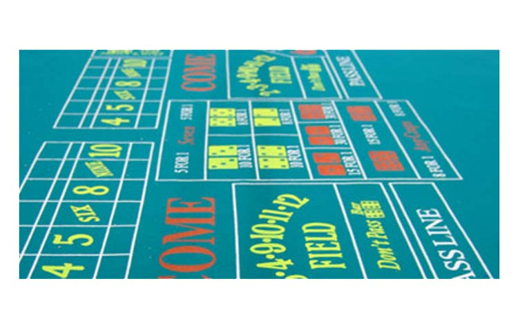 Professional craps layout for sale for 12 foot craps table for sale
