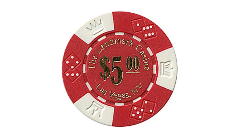 Casino chip landmark poker las vegas casino tour