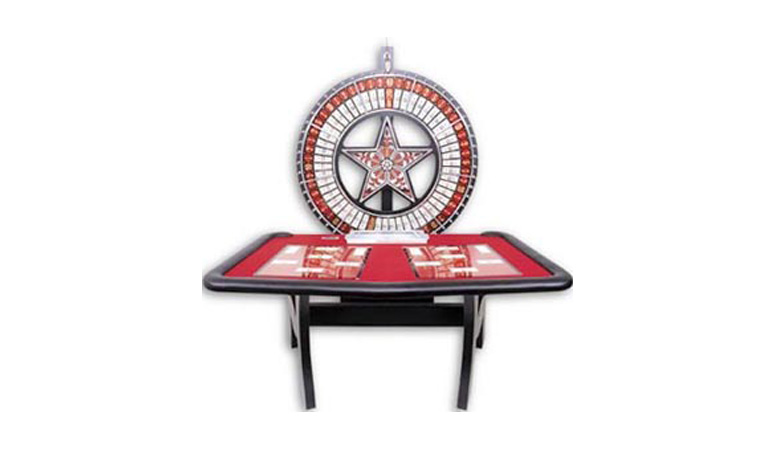 Casino Money Wheel Table Made In Usa For Sale
