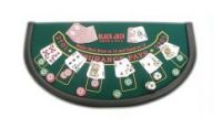 Blackjack table tops