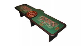 13 double roulette table made in the usa