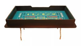 72 folding craps table made in the usa