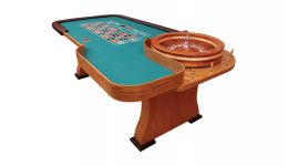 8 deluxe roulette table made in the usa