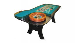 8 h style roulette table made in the usa