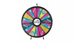 Big custom tabletop prize wheel