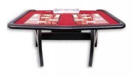Casino money wheel table made in usa