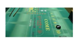 Custom craps layout