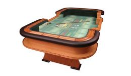 Deluxe craps table made in the usa
