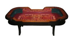 H style 8 craps table made in the usa