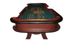 Premium craps table made in the usa