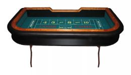 Premium folding craps table made in the usa