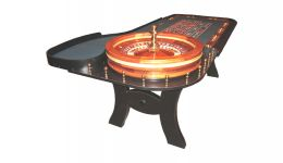 Professional roulette table made in the usa