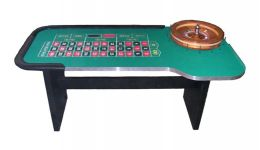 Standard roulette table made in the usa