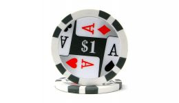 1 4 aces poker chip