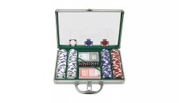 200 11 5g holdem aluminum poker chip set