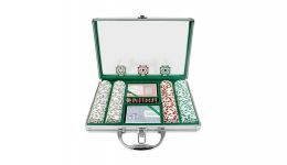 200 high roller aluminum poker chip set