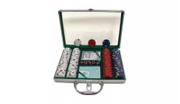 200 pro clay aluminum poker chip set