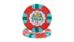 5 dunes poker chip