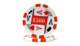 500 4 aces poker chip