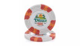 500 dunes poker chip