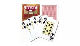 Copag red holdem jumbo index playing cards