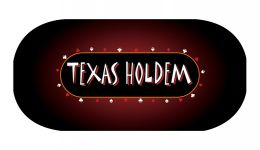 Texas holdem poker layout 3
