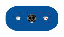 Texas holdem poker layout 9