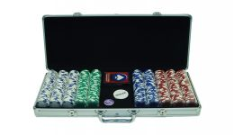 500 11 5g holdem aluminum poker chip set