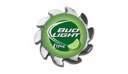 Bud light lime spinner cover