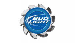 Bud light spinner cover