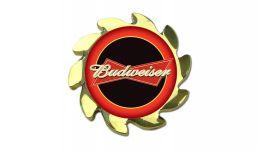 Budweiser gold spinner cover