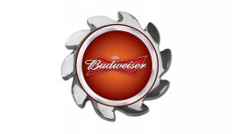 Budweiser spinner cover
