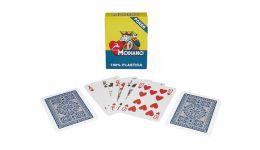 Modiano blue regular index playing cards