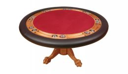 Premium round poker table
