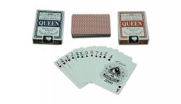 Queen blue and red 2 pack playing cards