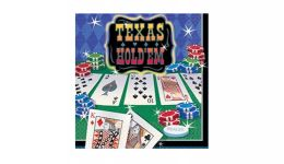 Texas holdem beverage napkins
