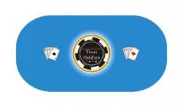 Texas holdem poker layout 23