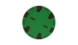 Monaco six stripe poker chips