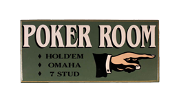 Poker signs