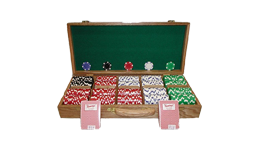 Wooden chip sets