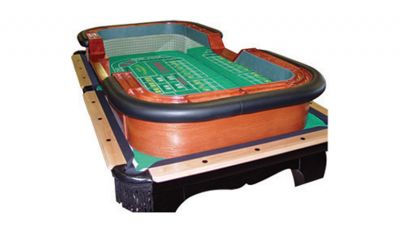 88 x 44 craps table top made in the usa