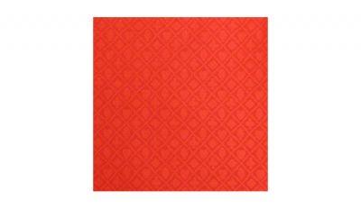 Light red suited poker felt