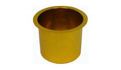 Jumbo gold cup holder