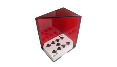 6 deck red blackjack discard holder