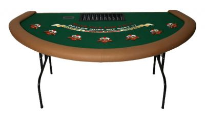 73 folding blackjack table made in the usa