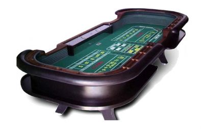 Professional craps table made in the usa